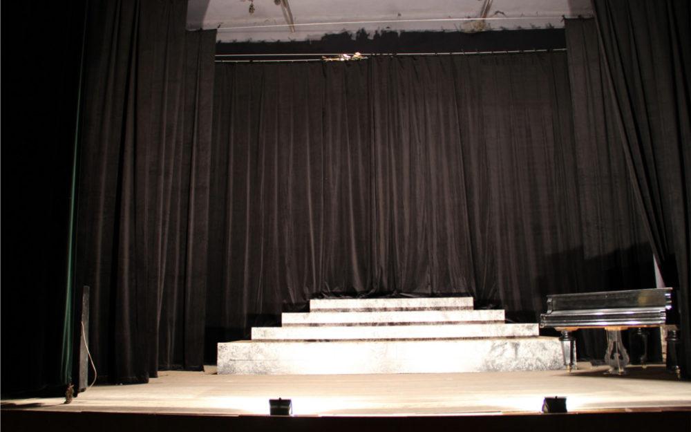 Jeviště pro divadlo